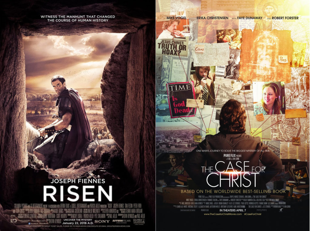 Two good Christian movies: Risen and The Case for Christ
