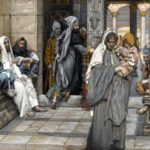 The Widow's Mite (Le denier de la veuve), painting by James Tissot